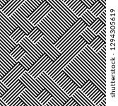 seamless pattern with oblique... | Shutterstock .eps vector #1294305619