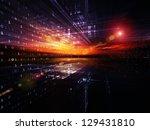 digital perspectives series.... | Shutterstock . vector #129431810