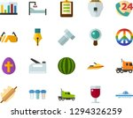 color flat icon set   easter... | Shutterstock .eps vector #1294326259