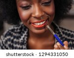 new lipstick color. amazing... | Shutterstock . vector #1294331050