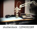 retro studio mic   Shutterstock . vector #1294332289