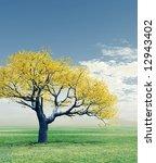 autumn tree | Shutterstock . vector #12943402