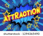attraction   vector illustrated ... | Shutterstock .eps vector #1294365490