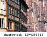 france. alsace. strasbourg. old ...   Shutterstock . vector #1294398913