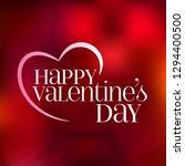 14 february valentine's day... | Shutterstock .eps vector #1294400500