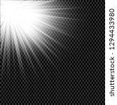 low light effect. starburst... | Shutterstock .eps vector #1294433980