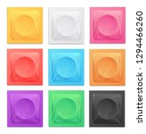 realistic 3d detailed color... | Shutterstock . vector #1294466260