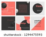 dynamic style 3d cover... | Shutterstock .eps vector #1294475593