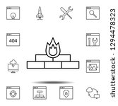 antivirus  firewall icon....