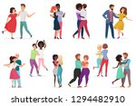 male and female pairs of... | Shutterstock .eps vector #1294482910