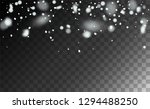 new year snow background.... | Shutterstock .eps vector #1294488250
