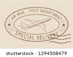 air mail special delivery... | Shutterstock . vector #1294508479