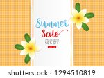 summer sale concept for... | Shutterstock .eps vector #1294510819