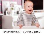 happy smiling cute...   Shutterstock . vector #1294521859