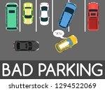 bad parking vector illustration.... | Shutterstock .eps vector #1294522069