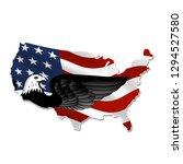 bald eagle symbol of north... | Shutterstock . vector #1294527580