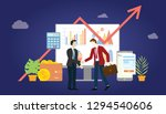 b2b business to business... | Shutterstock .eps vector #1294540606