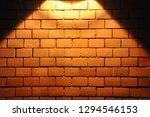 brick wall backgroung with a... | Shutterstock . vector #1294546153