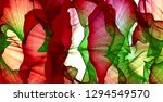 abstract background of colored... | Shutterstock . vector #1294549570