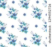 seamless watercolor pattern... | Shutterstock . vector #1294552726