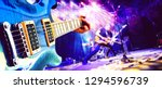 live music and concert... | Shutterstock . vector #1294596739