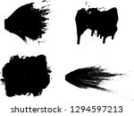 hand drawn scribble symbols... | Shutterstock .eps vector #1294597213
