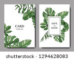 green leaf plant botanical... | Shutterstock . vector #1294628083