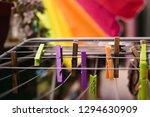 latch.defocus in the background. | Shutterstock . vector #1294630909