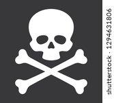 Vector Skull With Crossbones...