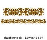 3d illustration ornament for... | Shutterstock . vector #1294649689