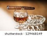 Beautiful Cognac With Cuban...