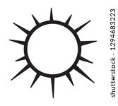 spiked circle icon   Shutterstock .eps vector #1294683223