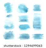 watercolor background. hand...   Shutterstock . vector #1294699063