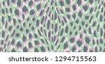 abstract hand drawn animal skin ... | Shutterstock .eps vector #1294715563