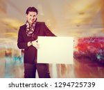 picture of smiling handsome man ... | Shutterstock . vector #1294725739
