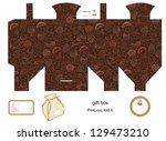 favor  gift  product box die... | Shutterstock .eps vector #129473210