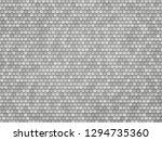 silver metal hexagon texture | Shutterstock .eps vector #1294735360