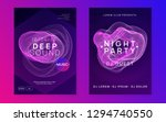 electronic event. creative show ... | Shutterstock .eps vector #1294740550
