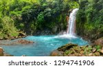 panoramic view of rio celeste... | Shutterstock . vector #1294741906