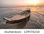 Sunset At The Bay Of Bengal...