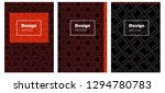 dark orange vector style guide...
