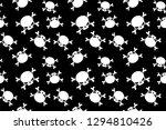 skull patterns  trendy vector... | Shutterstock .eps vector #1294810426