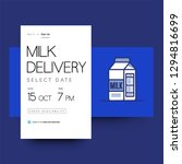 milk delivery grocery app...