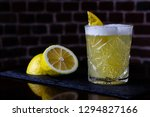 a classic recipe for whiskey...   Shutterstock . vector #1294827166