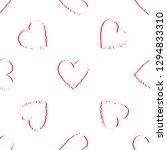 hearts. valentine's day... | Shutterstock .eps vector #1294833310