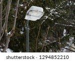 public lighting pole streetlamp | Shutterstock . vector #1294852210