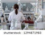 professional female chemist... | Shutterstock . vector #1294871983