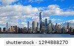 skyline of downtown manhattan... | Shutterstock . vector #1294888270