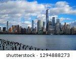 skyline of downtown manhattan... | Shutterstock . vector #1294888273