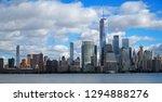 skyline of downtown manhattan... | Shutterstock . vector #1294888276